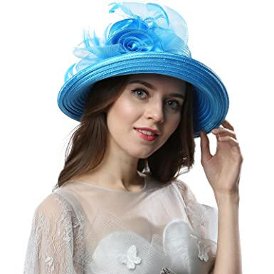 18dec9512d673 Janey Rubbins Women s Cloche Bowler Bucket Hats C1701 for Kentucky Derby  Day