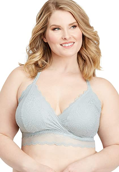 55774727d maurices Women s Plus Size Scalloped Lace Racerback Bralette at Amazon  Women s Clothing store