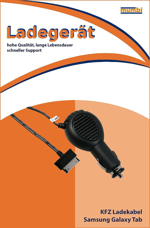mumbi 08978 Car Charging Cable for Samsung Galaxy Tab