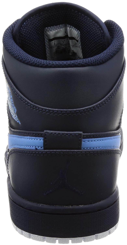 homme / femme de 1 milieu air jordanie université hommes obsidienne / université jordanie bleu / blanc caractéristique gb9082 emballage moins robustes et élégants fbf6de