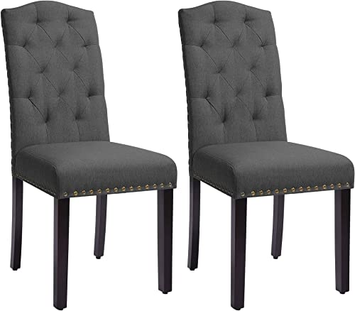 SONGMICS Set of 2 Dining Chair
