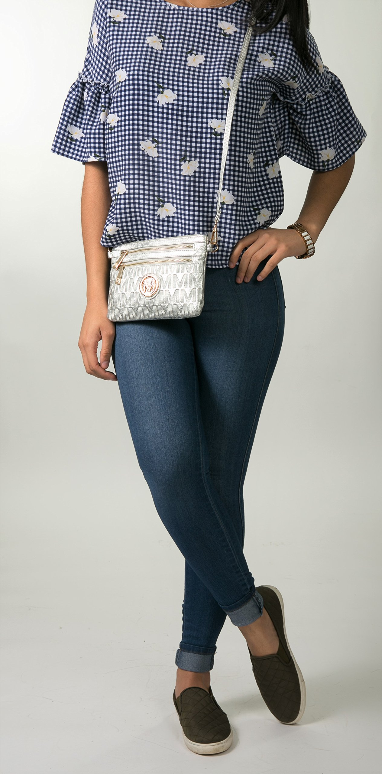 Wristlet | 2-in-1 Crossbody Bags for Women | MKF Collection Roonie Milan Signature Design by MKF Collection (Image #3)