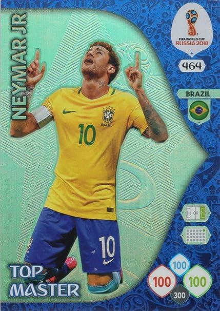 Adrenalyn XL FIFA World Cup 2018 Rusia – Neymar Jr Top Master Trading Card – Brasil # 464: Amazon.es: Deportes y aire libre