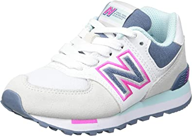 New Balance 574 Pc574nlh Medium, Zapatillas para Niñas: Amazon.es: Zapatos y complementos