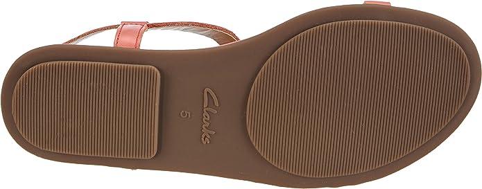 Clarks Risi Hop, Sandales Femme: : Chaussures et Sacs