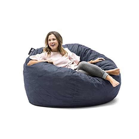 Incredible Big Joe Fuf Foam Filled Bean Bag Chair Large Cobalt Lenox Ibusinesslaw Wood Chair Design Ideas Ibusinesslaworg