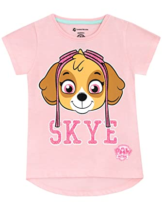 b8c4a56add057 La Pat  Patrouille Paw Patrol - T-Shirt - Fille  Amazon.fr ...