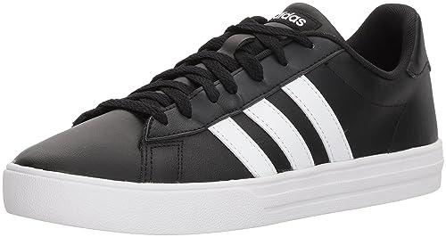adidas Originals Mens Daily Team Fashion Sneakers Black/White/Black 8 M US