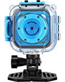 "Kids Waterproof Digital Camera,CamKing CD-BL 1.77"" LCD Screen Kids Digital Camera with Wifi and Video Recorder(Blue)"