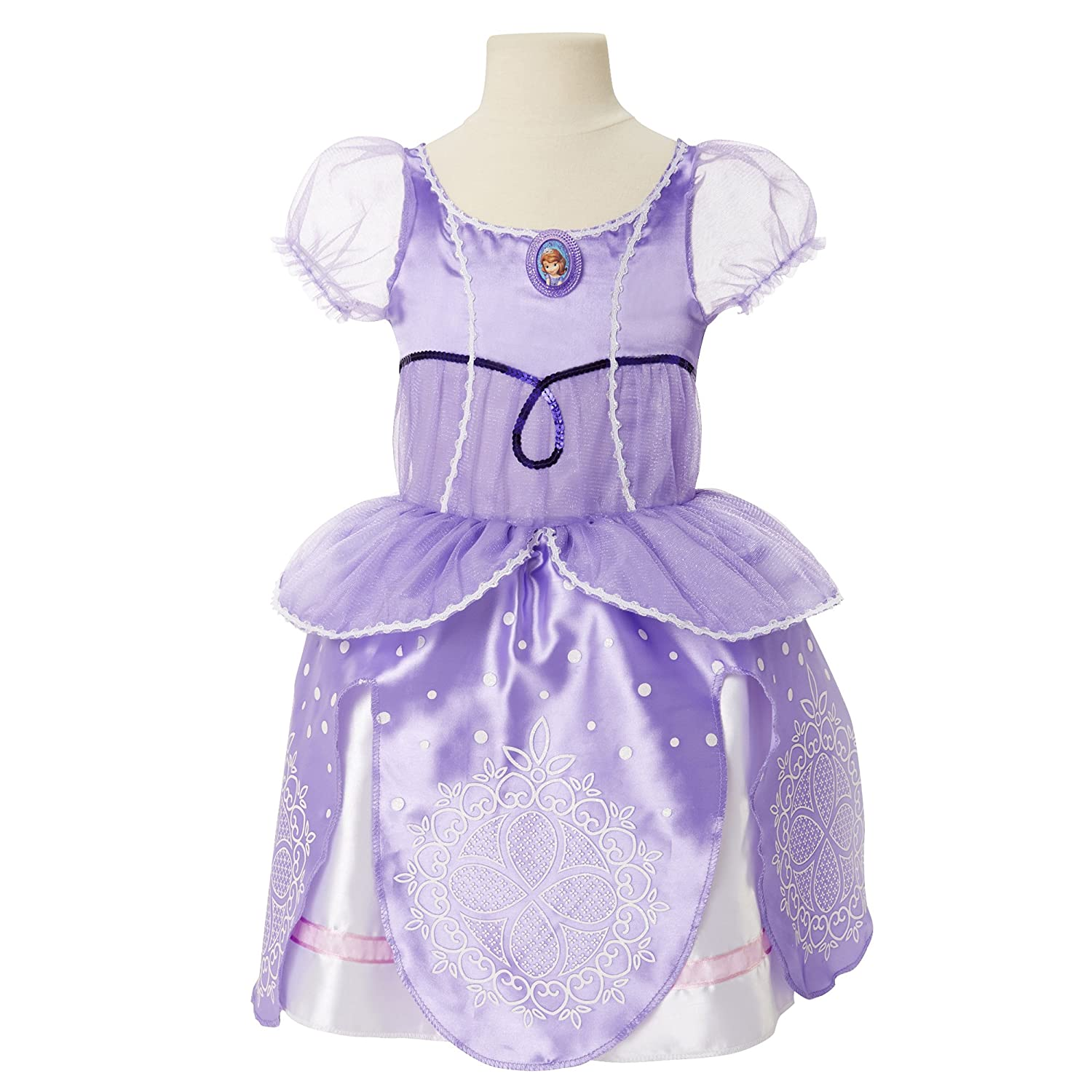 Amazon.com: Sofia the First Royal Signature Dress Size 4-6X: Toys ...