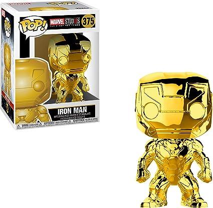 Funko Brand New In Box Chrome Iron Man POP Marvel: Marvel Studios 10