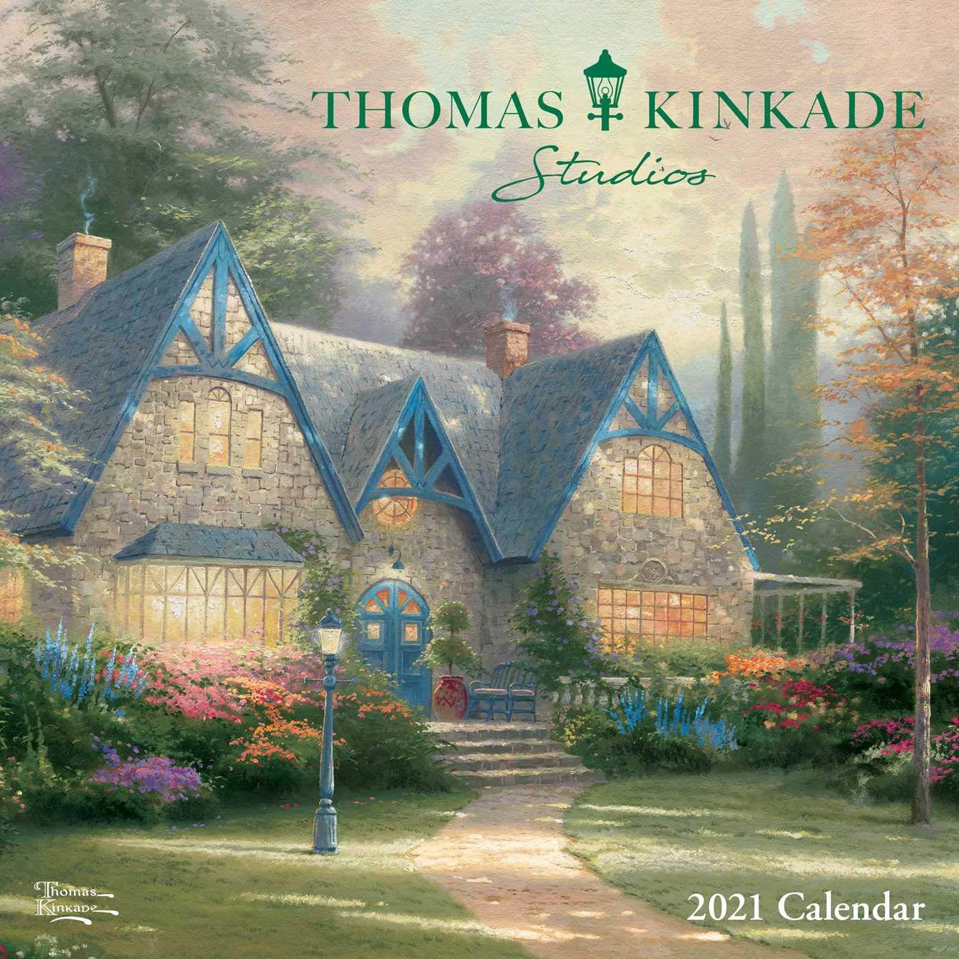 Pictures of Thomas Kinkade Desk Calendar 2021