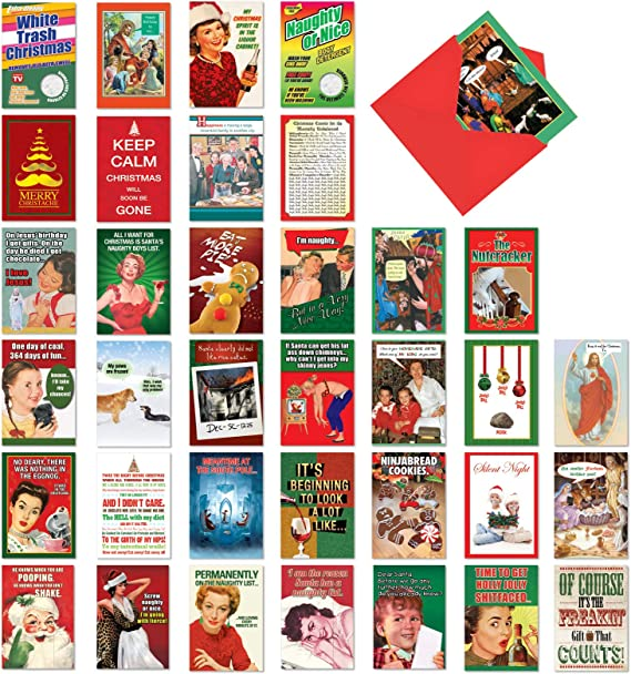 Funny Christmas Card Funny Holiday Card Nuts About Holidays //// Nutcracker Card Christmas Card Punny Christmas Card Holiday Card