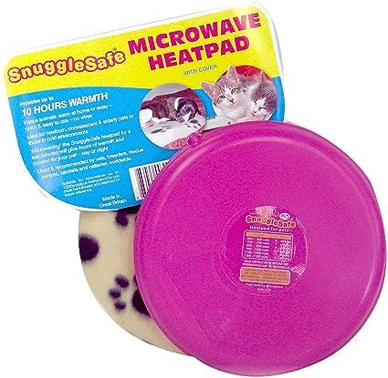 Snuggle Safe Almohadilla de Calor inalámbrica de microondas con Cobertura de Forro Polar (el Color Puede Variar)