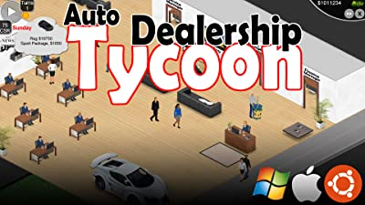 Auto Dealership Tycoon [Online Game Code]