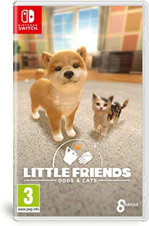 Jogo Little Friends: Dogs e Cats - Switch - Sold Out