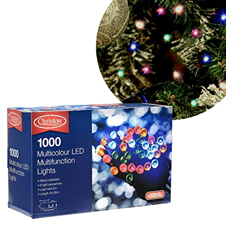 c30527e84add5 https www whitestores co uk media catalog Source · Christow Multi Colour  Christmas String Fairy Lights Indoor Outdoor