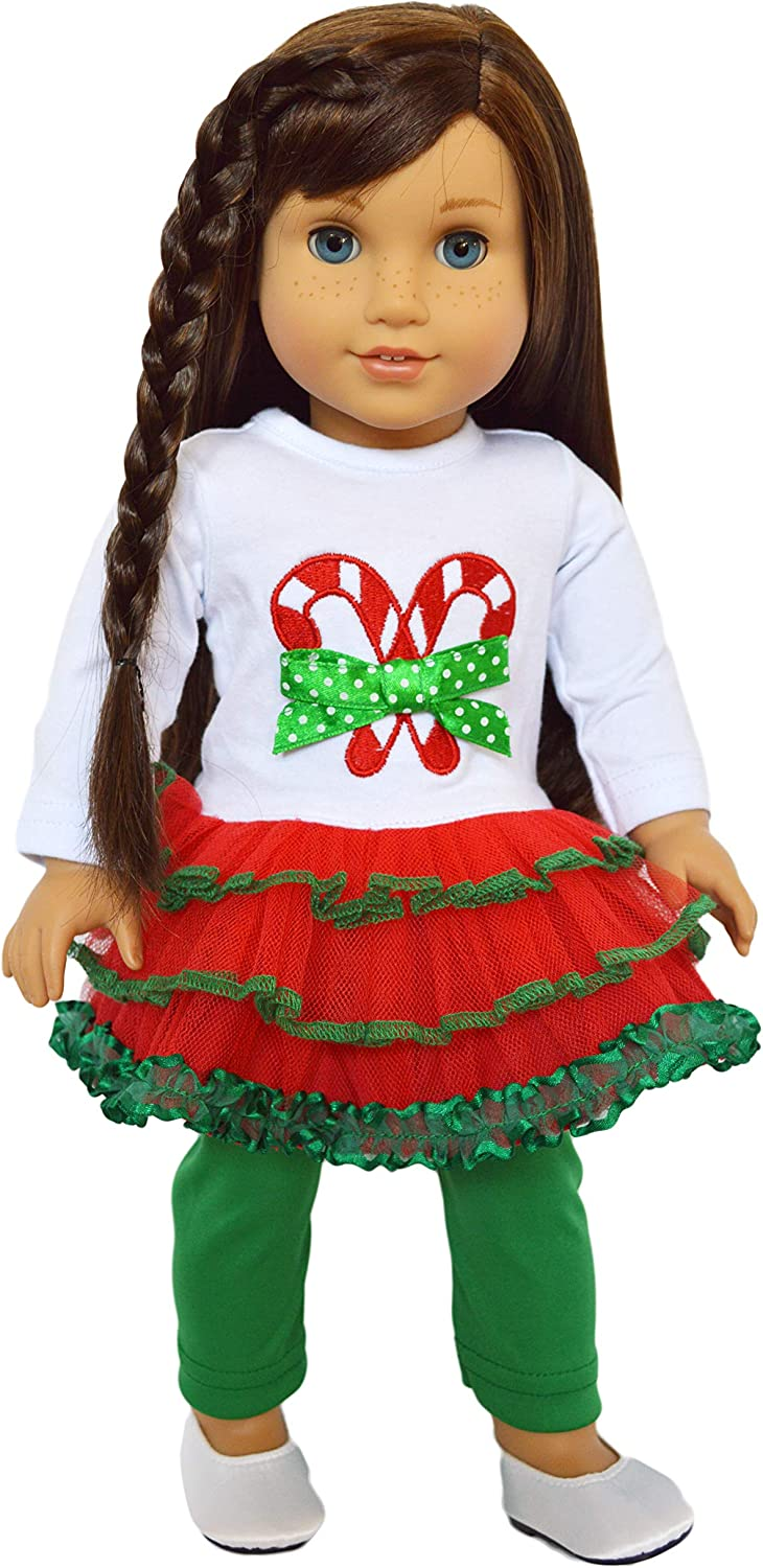 My Brittany/'s Oh Christmas Tree Lounge Doll Clothes 4 18 Inch American Girl Doll