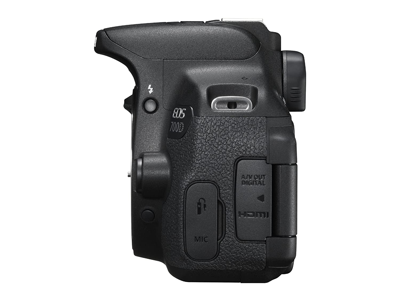 Canon EOS 700D Cámara digital SLR, 18MP, CMOS Sensor, 3 inch LCD ...