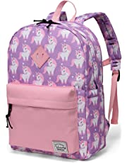 Preschool Toddler Backpack,Vaschy Little Kid Small Backpacks for Kindergarten Children Boys and Girls with Chest Strap (Pink Unicorn)