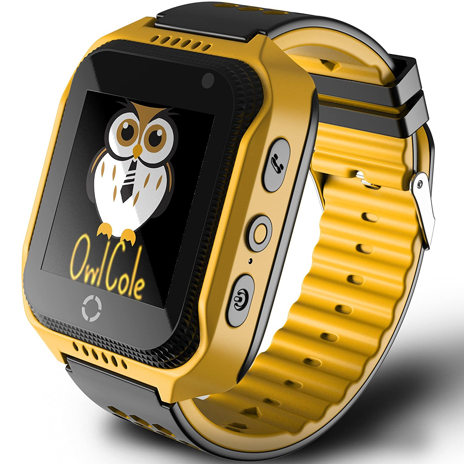 Smart Watch For Kids Best Phone Watch Birthday Holiday Gift With Gps Tracker Camera Touchscreen Sos For I Phone Android Smartphone Pedometer For Children Boys Girls by Owl Cole
