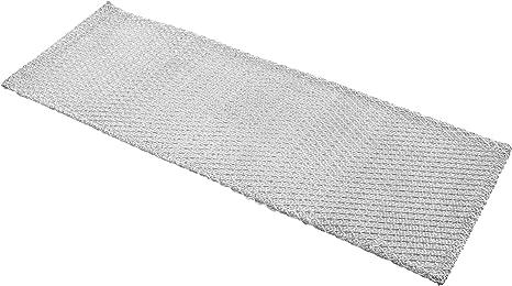 vhbw Filtro permanente metálico para grasa 45,2 x 16 x 0,35 cm adecuado para Whirlpool AKR 680 857868001021 campana extractora metal: Amazon.es: Grandes electrodomésticos
