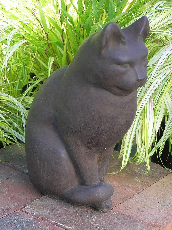 Amazon.com : CAT Sitting STATUE 12\
