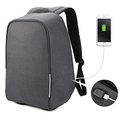 Anti Theft Laptop Backpack Business Bags Usb Charging Port School Travel Pack