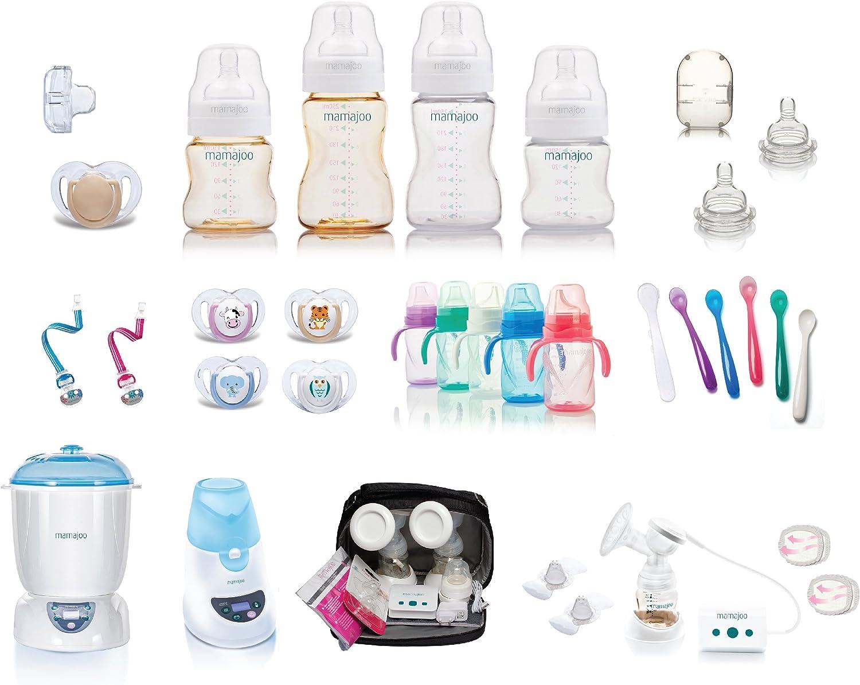 Mamajoo libre de BPA PP sistema de v/álvula antic/ólicos Biber/ón 250/ml, 2/unidades