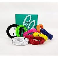 Kit Refil Filamento ABS para Caneta 3D e Impressora 3d 8 cores 240m 600g
