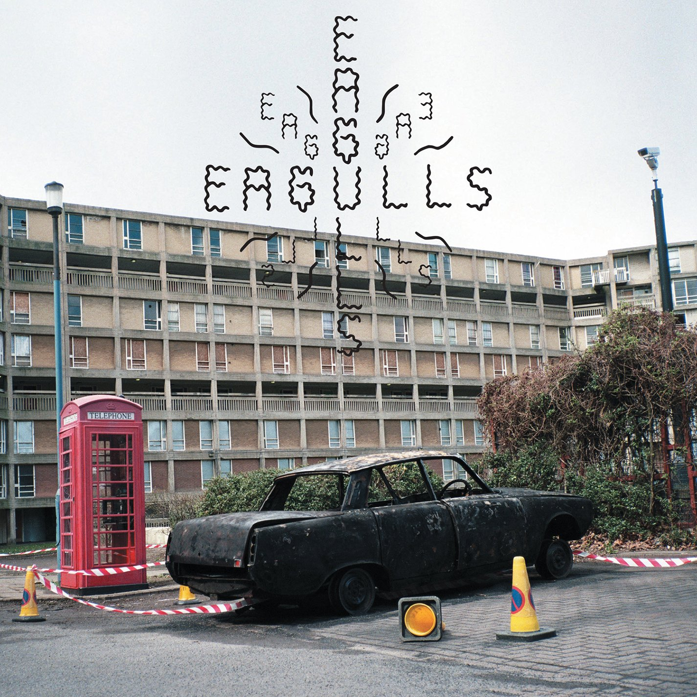 CD : Eagulls - Eagulls (Digipack Packaging)