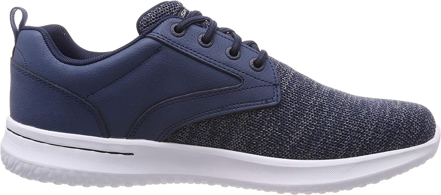 Skechers Delson Fonzo, Baskets Homme: : Chaussures