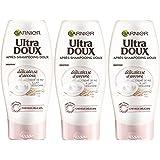 Garnier - Ultra DOUX Délicatesse d'avoine - Après Shampooing Doux Cheveux Fins Et Délicats - Lot de 4