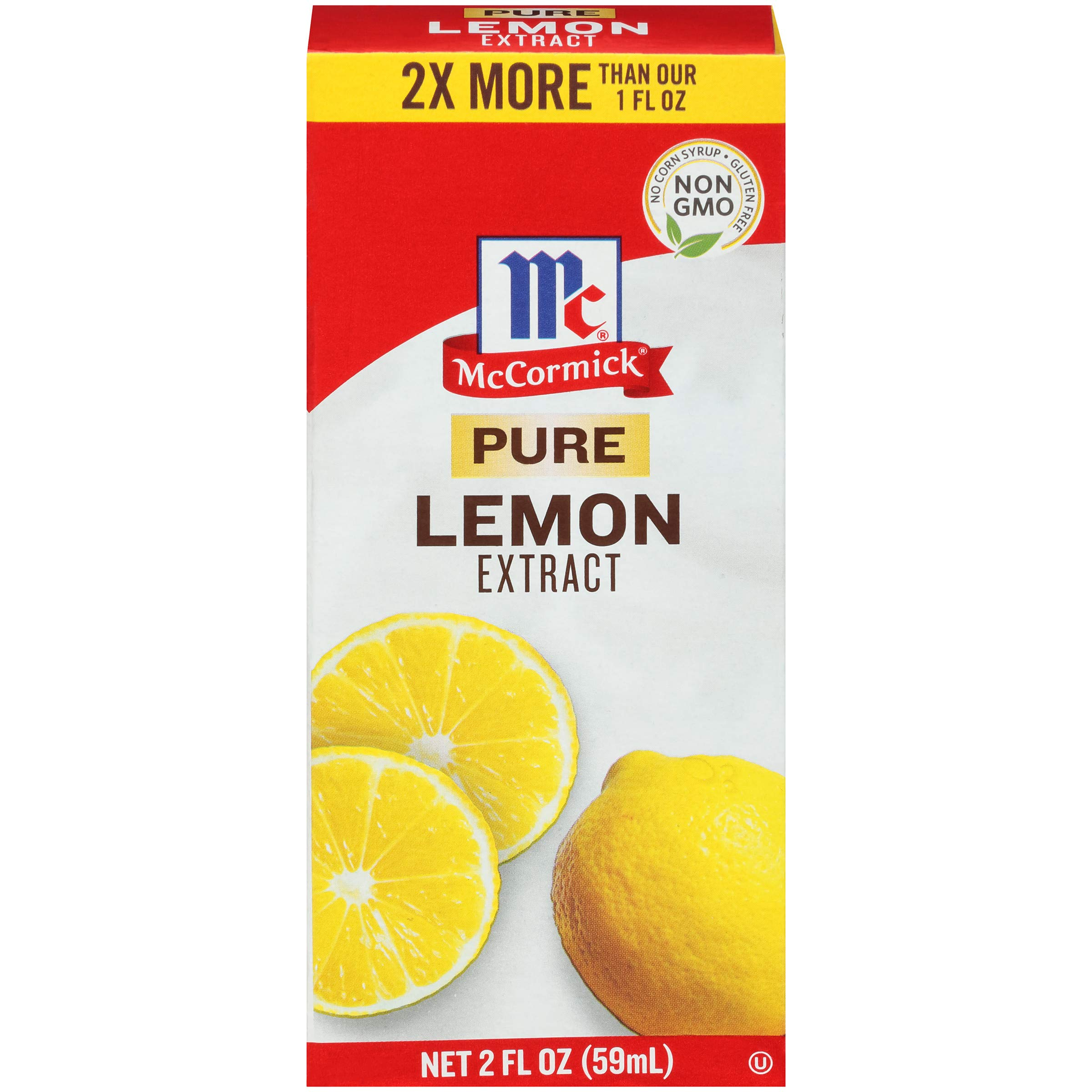 McCormick Pure Lemon Extract, 2 fl oz