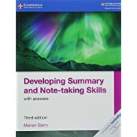 Developing Summary and Note-taking Skills with Answers