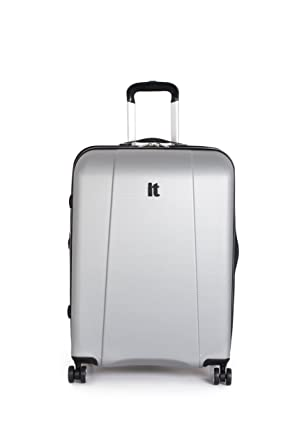 Amazon.com | it luggage Copenhagen 22 Inch Carry On, Silver, One ...