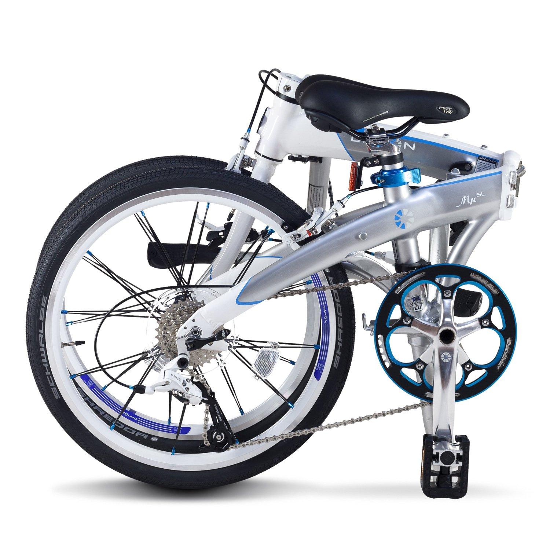 Dahon Mu SL Bicicleta Plegable, Unisex Adulto, Gris (Mercury), 20