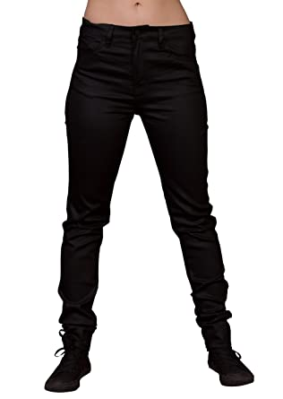 Lip Service Women&39s Coated High Waist Skinny Jeans at Amazon