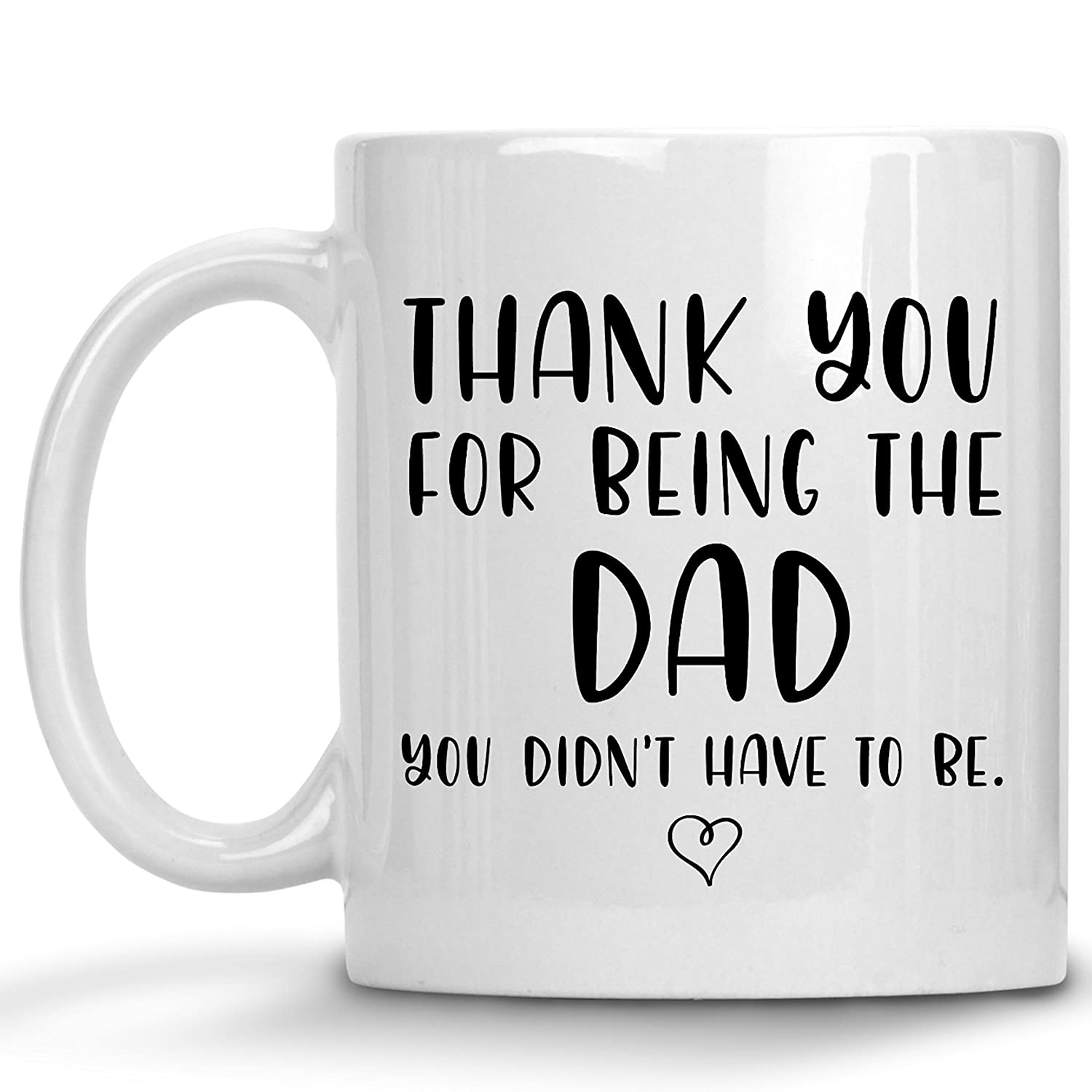 136abbeb9 Amazon.com: Stepfather Gift From Daughter - Father's Day Bonus-Dad Best  Step-Dad Gifts Ever Stepdad Gift Coffee Mug Tea Cup From Stepdaughter  Stepson (11 ...