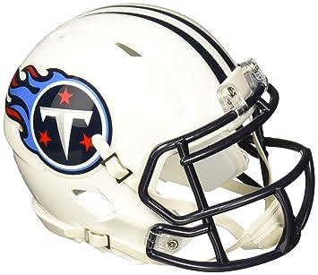 9bb4db27fb4 Riddell Replica Mini Speed Helmet Tennessee Titans  Amazon.co.uk ...