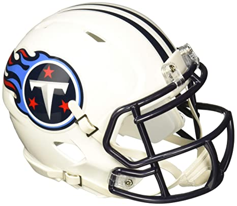 4b64b9ba9 Image Unavailable. Image not available for. Color  Riddell Tennessee Titans  NFL Replica Speed Mini Football Helmet