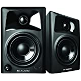 M-Audio AV32   Compact Active Desktop Reference Monitor Speakers (Pair) for Premium Playback, Professional Media Creation and Immersive Gaming Sound