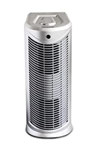 Oreck Air Tower Purifier, with HEPA Filtration, WK17003QPC, Platinum