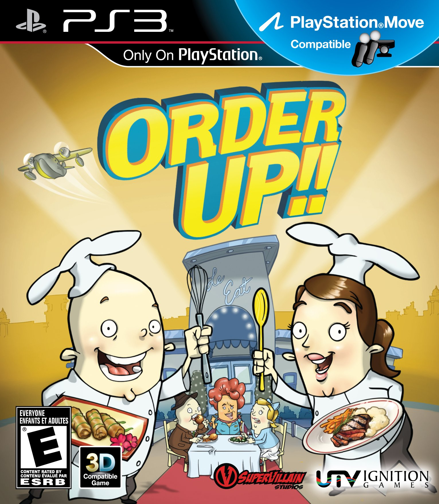 Order Up! - Playstation 3