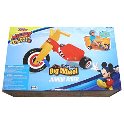 Disney Junior Mickey And The Roadster Racers Version of The Original BIG WHEEL Junior Rider: Toys & Games