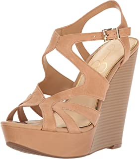 02dfa375be9 Jessica Simpson Women s Brissah Wedge Sandal