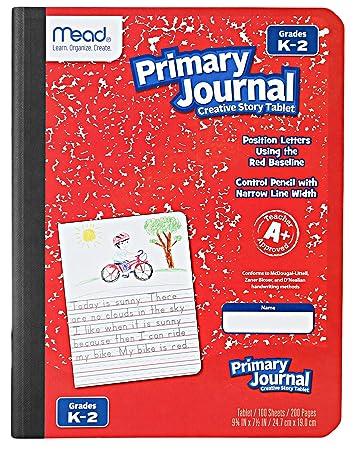 Amazon.com: Composición primaria: 12 unidades de cuadernos ...