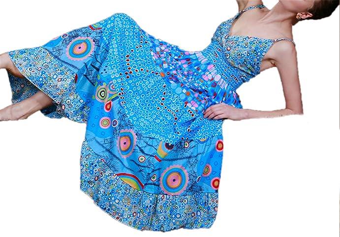 DaveDu NEW venda quente Boemia moda vestido sexy Com Decote Em V impressão cinta vestido sem