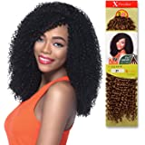 """Outre Synthetic Hair Crochet Braids X-Pression Braid 4 In 1 Loop Jerry Curl 14"""""""