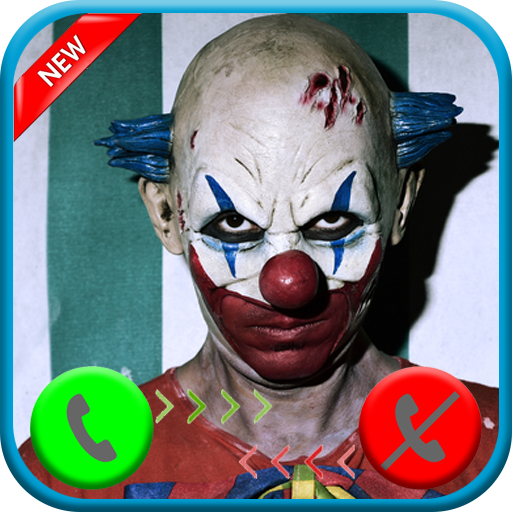 A real live call from scary clown killer - Free fake phone call ID PRO - 2018 - PRANK
